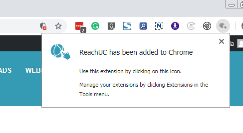 ReachUC Google Chrome Complete | ReachUC